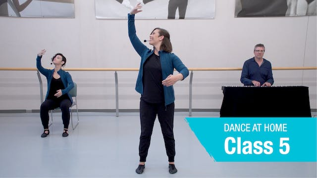 Dance At Home • On Your Feet • Autumn 2021 • Class 5