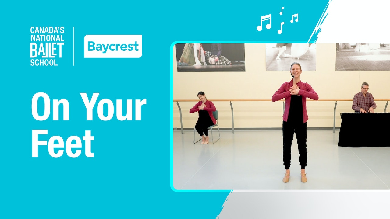 Dance at Home: On Your Feet