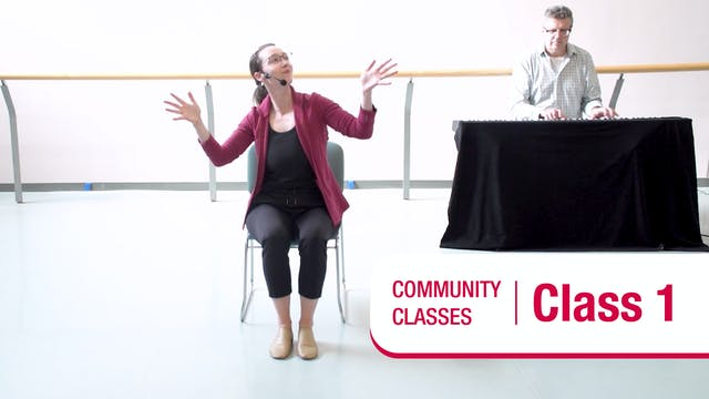 Community Class • In Your Seat • Class 1 • Autumn 2021