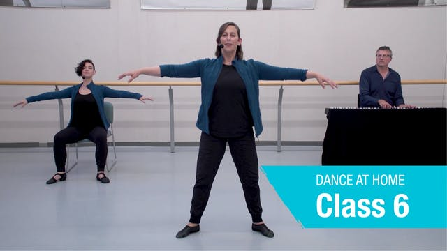 Dance At Home • On Your Feet • Autumn 2021 • Class 6