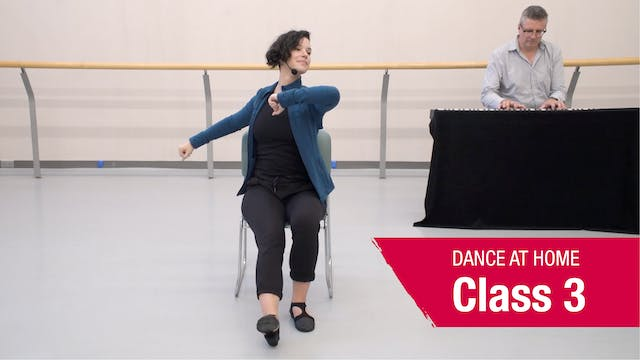 Dance At Home • In Your Seat • Autumn 2021 • Class 3