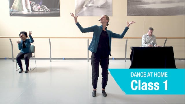Dance At Home • On Your Feet • Autumn 2021 • Class 1