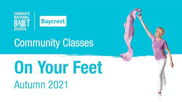 Community Classes • Autumn 2021 • On Your Feet