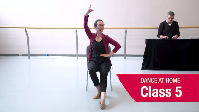 Dance At Home • In Your Seat • Autumn 2021 • Class 5