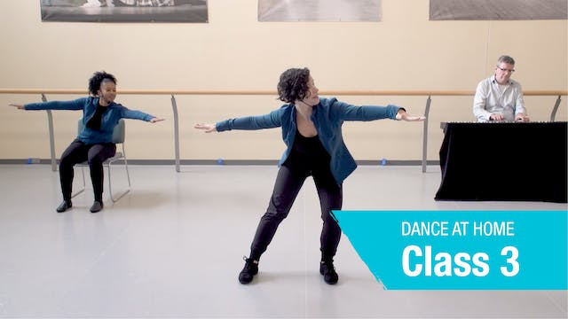 Dance at Home • On Your Feet • Autumn 2021 • Class 3