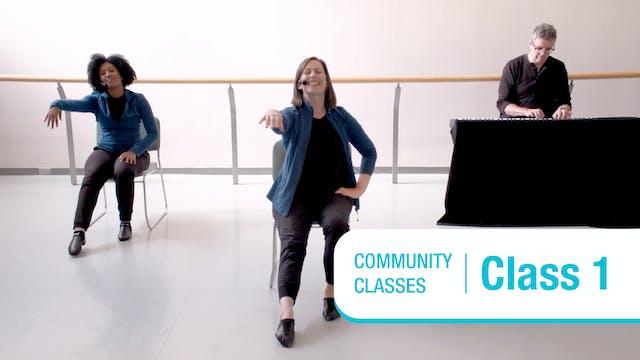 Community Class • On Your Feet • Class 1 •  Autumn 2021