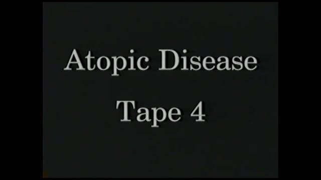 AtopicDiseases_Tape 4