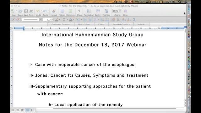 2017-12-13_International _Hahnemannian_Study_Group_2017