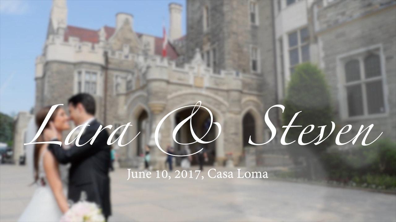 Lara & Steven's Wedding