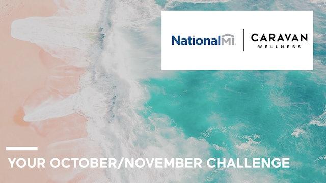 October/November Challenge Calendar