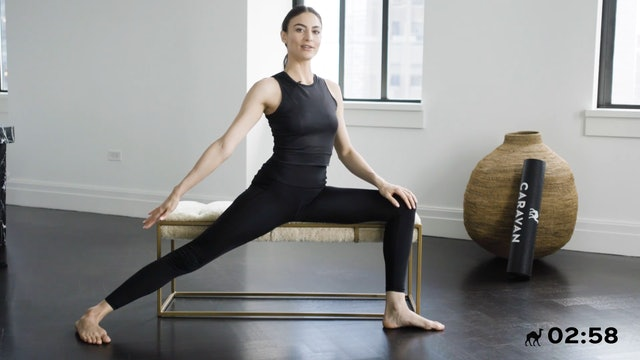 10 Min Seated Flow For Lower Body