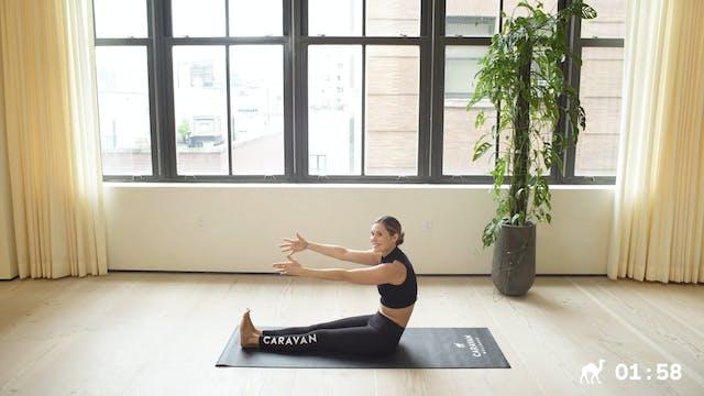 10 Min Pilates Roll Up