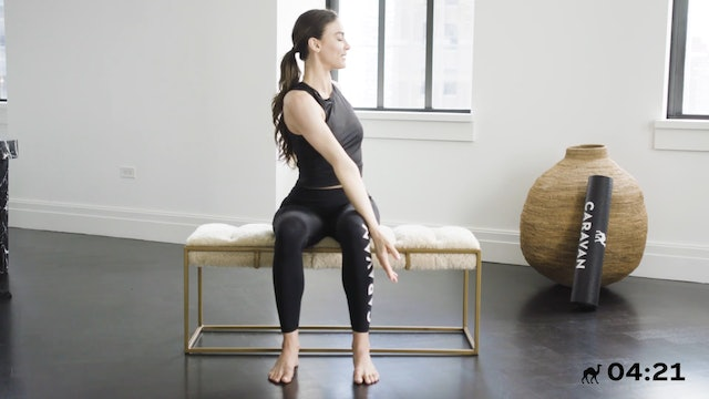 10 Min Seated Flow For The Core