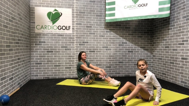 13-minute Strength Training for Junior Golfers Featuring Britni Gielow