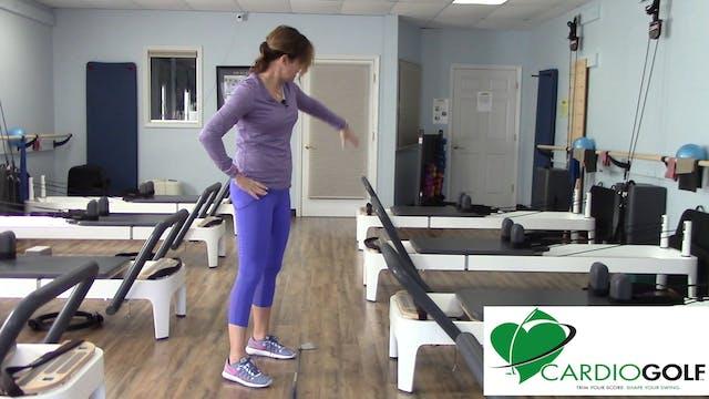 Cardiogolf  Inside Alignment Practice