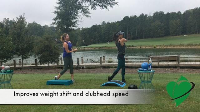 1:41 min Weight Shift Drill