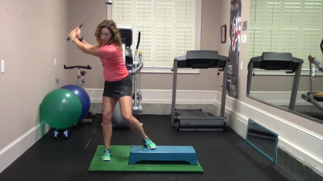 1-minute Uphill Lie Drill-Groove Your Swing