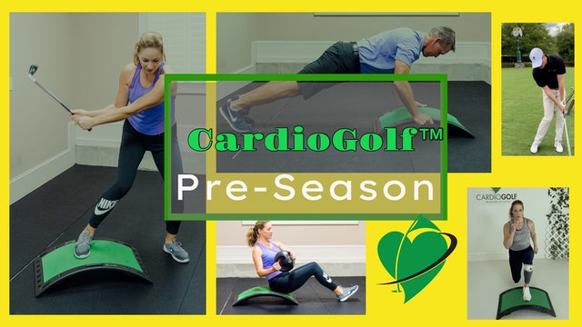 CardioGolf™ Pre-Season Training for Golf