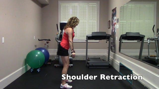 1-minute Shoulder Retraction Exercise