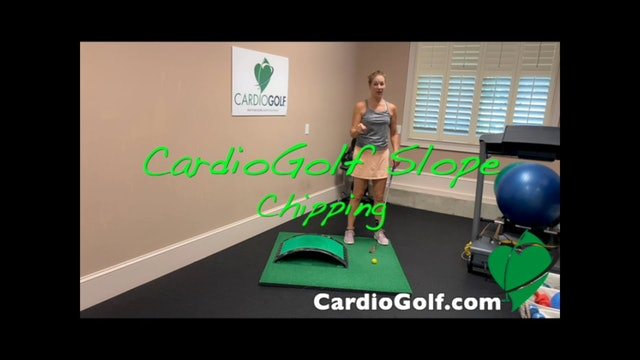 5-minute Chipping Drill on Slope