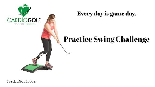 1-min Short Iron Practice Swing Chall...