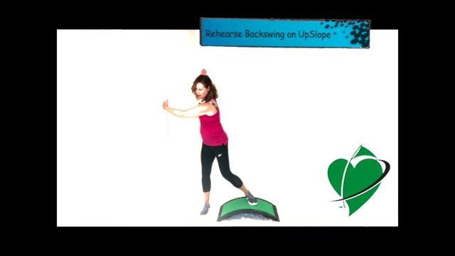 CardioGolf Slope Warm-Up for For Full Range of Motion