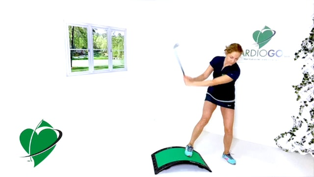 7:43 min CardioGolf™ Post-Round Recovery Stretch