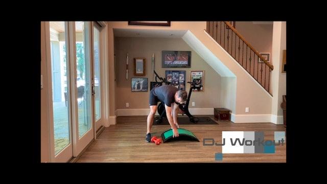 25-minute Core, Upper Body and Balance by Dan Jansen