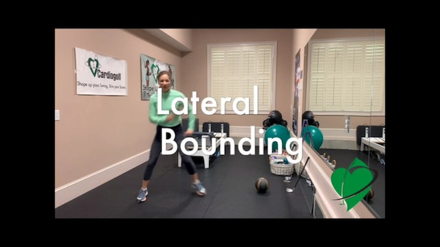 24-minute CardioGolf Power Workout NO MUSIC
