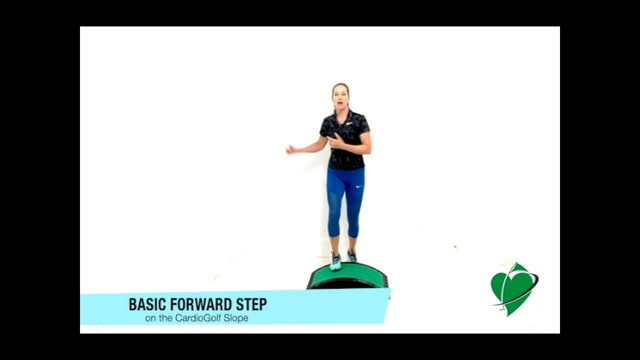 9-minute Pre-Round Warm Up on the CardioGolf Slope
