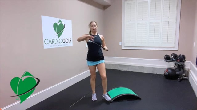 48:59 min CardioGolf Recorded Live