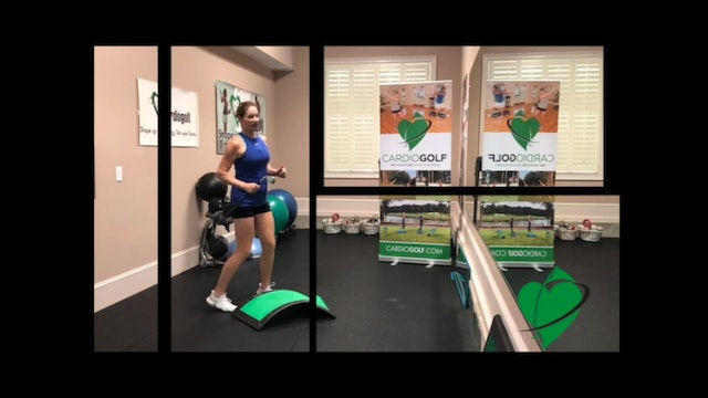 6:48-min Swing Strong and Freely Mobility Workout Pre or Post-Round Routine