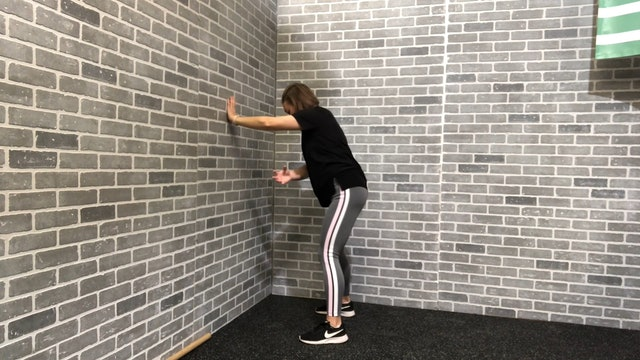 19:13 minute Total Body Wall Stretch Routine Featuring Britni Gielow