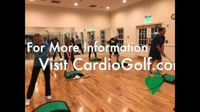 What are CardioGolf Swing Drills...