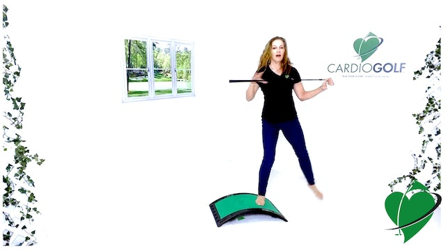 31-min CardioGolf Stretch Out Your Swing Routine