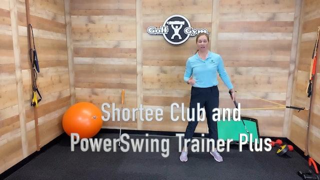 GolfGym PowerSwing Trainer Plus
