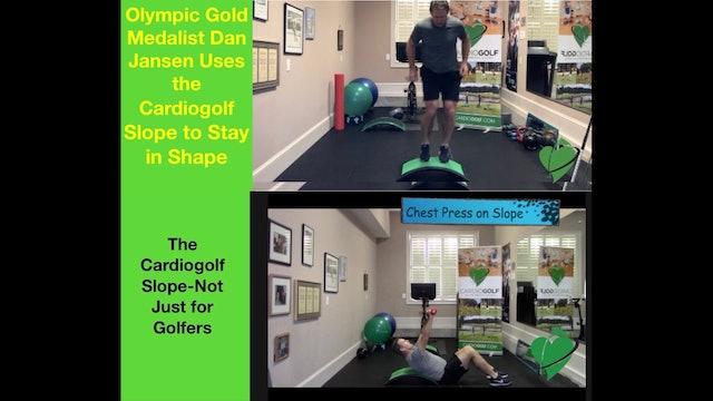 Introducing the Dan Jansen Cardiogolf HIIT Workouts