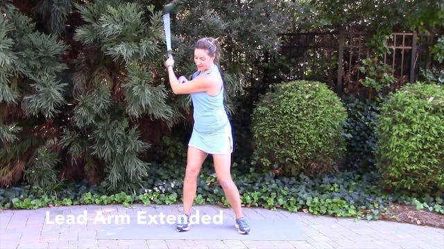1-minute  Left Arm Only Drill