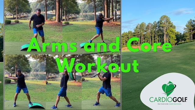 10:47 min Arms and Core Workout by Dan Jansen