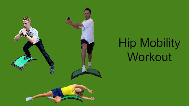 CardioGolf™ Hip Mobility Workout Preview