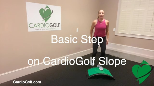 5-minute At-Home CardioGolf Workout