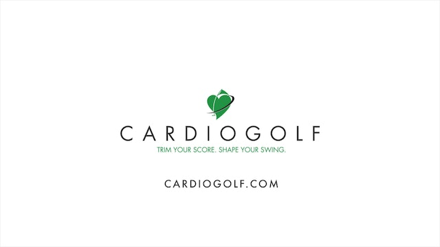 45-minute CardioGolf Recorded Live-Groove Your Swing No Music  (Live 011)