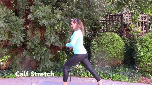 7-minute Basic Post-Round Stretch Routine