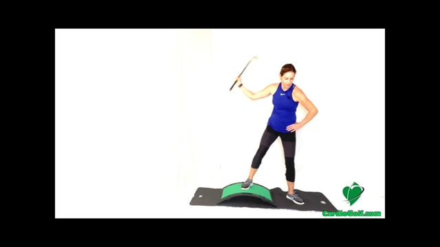 32-minute Balance and Core Workout on Slope