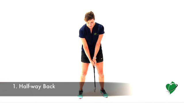 1-minute CardioGolf Position No. 1