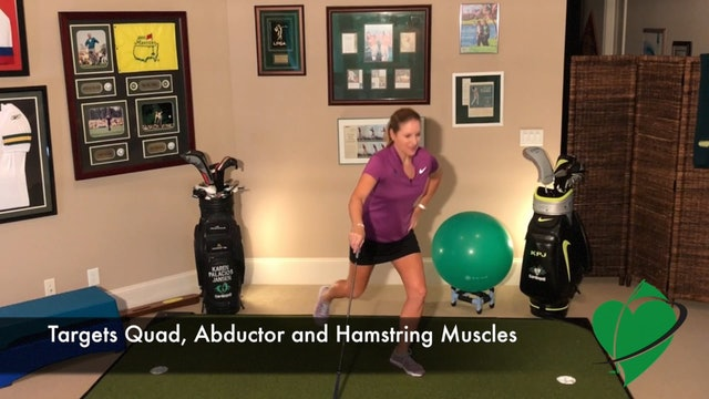 2-minute Lunge with Knee Drive