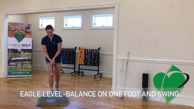 4-minute One Legged Balance Exercise ...