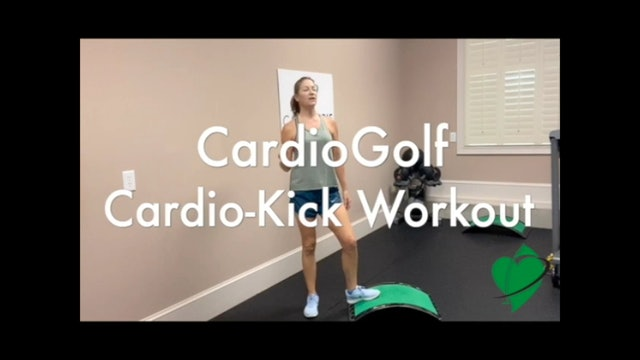 10-Minute Cardio Kick Workout