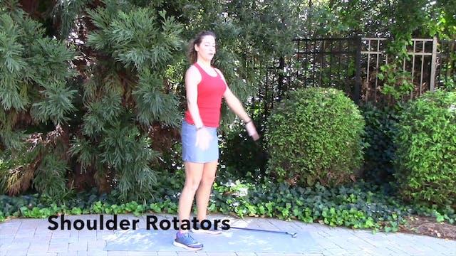 1-minute  Shoulder Rotation Exercise
