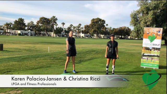 3-minute CardioGolf Swing Positions